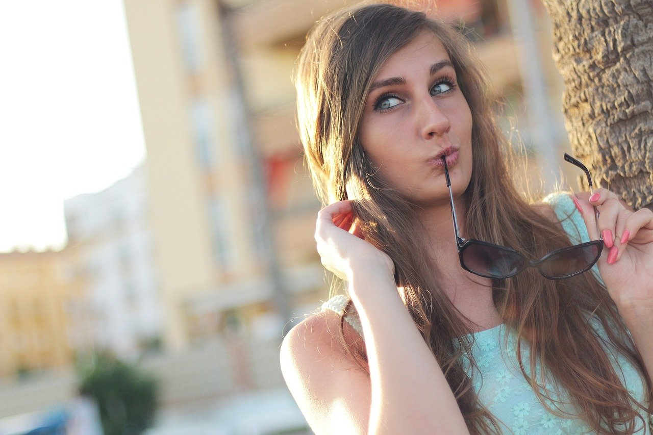 girl, beauty, fashion