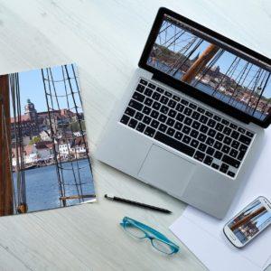 service création livre photo