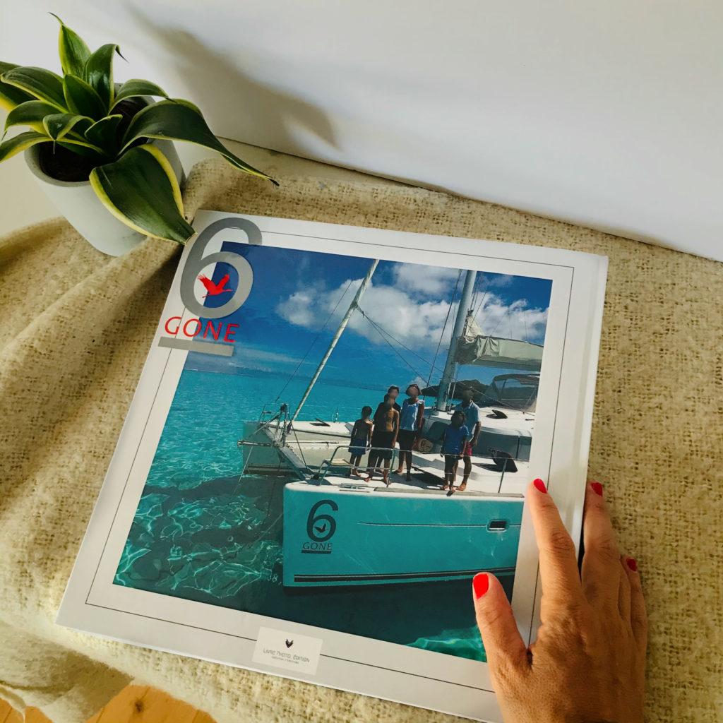livre photo tour du monde en bateau